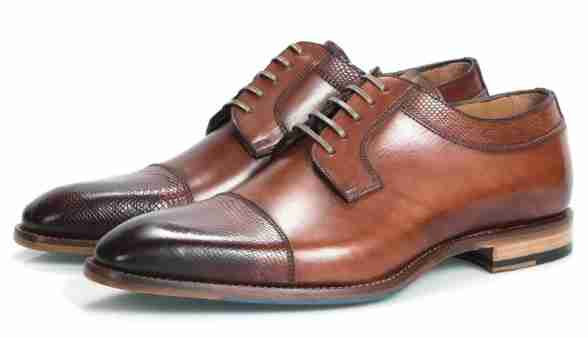 The Cap Toe Derby